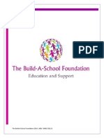the build-a-school foundation- information and goals