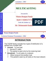 Technical Seminar Presentation - 2004
