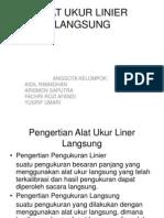 Alat Ukur Linier Lansung