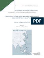 A Geopolítica e o Complexo de Segurança Na Ásia
