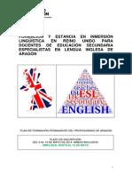 Convocatoria Formación Extranjero_secundaria- Especialistas Inglés
