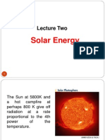 Lecture Solar