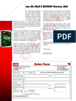 Indonesian OIL PALM & REFINERY Directory, 2012