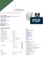 APC MX5000 Datasheet