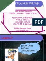 LOGAM ZIRKONIUM