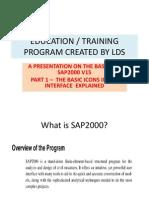 Presentation SAP2000V15 Part1