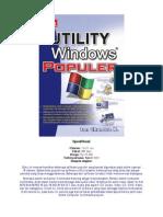 Utility Windows Populer