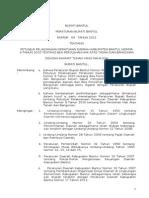 126136761 Peraturan Bupati Bantul No 04 Tahun 2012