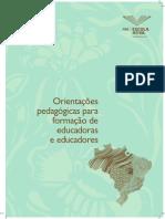 PDE 2013 ESCOLA ATIVA - Orientações Pedagógicas Para Formação de Educadoras e Educadores