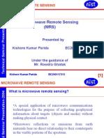 En-microwave Remote Sensing