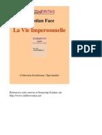 La Vie Impersonnelle - Christian Face