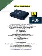 Audiolink II Manual (English)