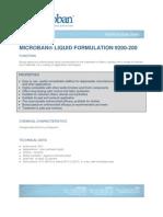 Microban 9200-200 TDS