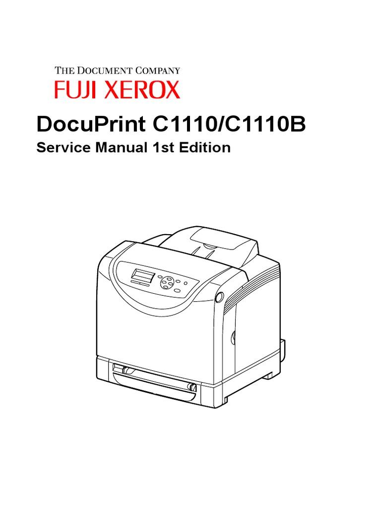 FujiXerox C1110 Service Manual | Electrical Connector