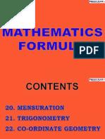 6 Maths Forumulae