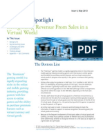 Technology Spotlight 2014 Recognizing Revenue From Sales in a Virtual World