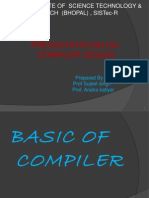 Basic of Compiler