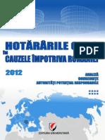 Concluzii CEDO Volumul VIII 2012 Final