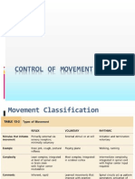 Control of Posture and Movement