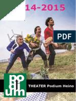 Brochure 14 - 15 THEATER Podium Heino