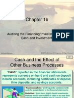 Chapter_ch 1616 Auditing Cash Investments