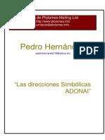 Direcciones Simbolicas Adonai (Astrologia)