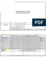 Excel Sheet Load List