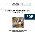 Administração de Vendas - Marketing