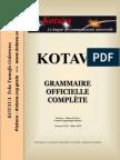 Official grammar of Kotava (v4.01, march 2014)
