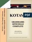 Official grammar of Kotava (v3.10, march 2008)
