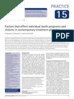 Tooth Prognostic