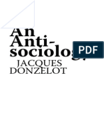 Donzelot Anti Sociology