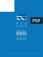PTS Granada - Memoria2012