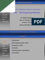 WK6 - Self-Organising Networks