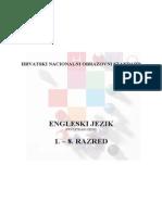 Engleski Prvi Jezik 1.-8. Razreda