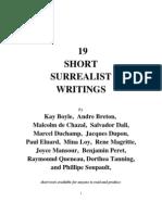 19 Short Surrealist Writings