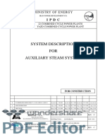 8. Yazd-System Description for Auxiliary Steam System_Combined