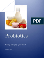 in depth look at probiotics