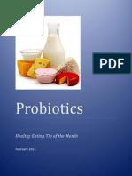 in depth look at probiotics