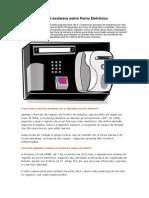 UFMG Esclarece Sobre Ponto Eletrônico