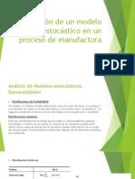 Aplicación de Un Modelo Estocástico en Un Proceso