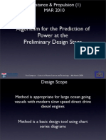 Preliminary Prediction of Power
