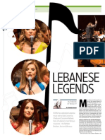 LEBANESE LEGENDS AT OPERA HOUSE