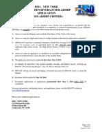 2014 HSO NY Scholarship Application v0