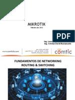 Capacitación-Mikrotik