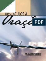 15595250 Evangelico Marcio Valadao Obstaculos a Oracao