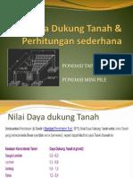 Daya Dukung Tanah & Perhitungan Sederhana