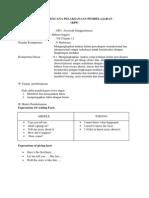 Rencana Pelaksanaan Pembelajaran 1 mts kelas 1 semester 2