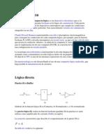compuertas logicas para circuitos digitales