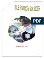 Renewable Energy Sources by M A Qadeer